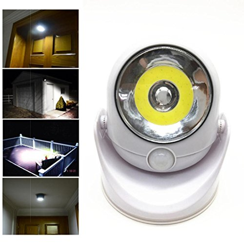 Price comparison product image HighlifeS Motion Sensor Light, Cordless Battery-Powered LED Night Light, Stick-anywhere Closet Lights Stair Lights