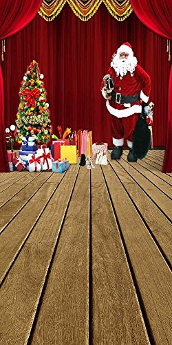 GladsBuy Tempting Christmas Gifts 10' x 20' Digital Printed Photography Backdrop Christmas Theme Background YHA-485 by GladsBuy