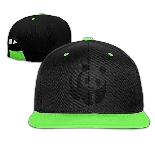 kid-world-wildlife-fund-logo-contrast-color-flat-bill-hat-kellygreen