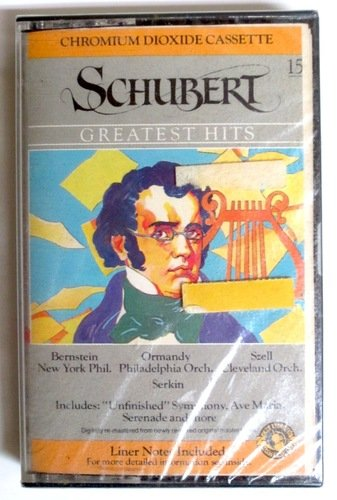 Schubert: Greatest Hits- Includes Unfinished Symphony, Ave Maria, Serenade and More (CBS Records Masterworks)