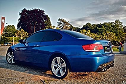 1ft x 5ft Blue Standard Mirror Chrome Vinyl Wrap Roll with VViViD XPO Air Release Technology