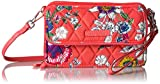 Vera Bradley Rfid All in One Crossbody-Signature, Coral Floral