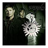 Gift for the Loved New Supernatural Anti Possession Symbol Necklace Protection Tattoo Pentagram Sun 1pcs