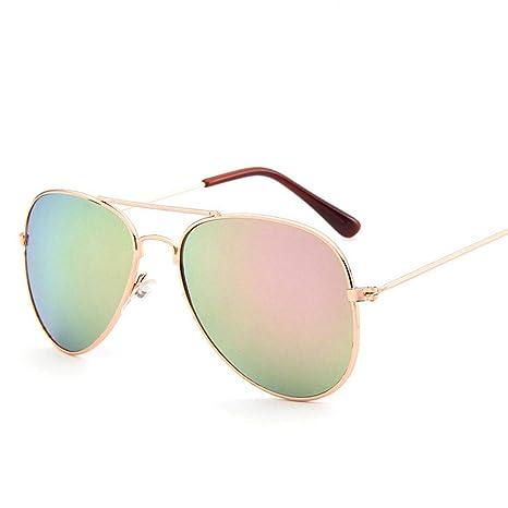 YFDXQY Gafas de Sol de Moda Infantil para niños niña Gafas ...