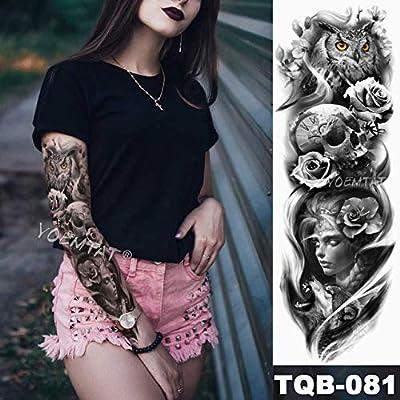 Brazo grande manga tatuaje familia impermeable tatuaje pegatina ...