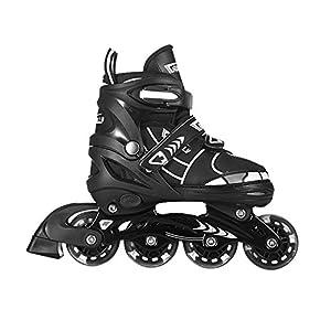 Tuko Rollerblade Adjustable Inline Skates for Boys (US Big Kid-2M/3M/4M)