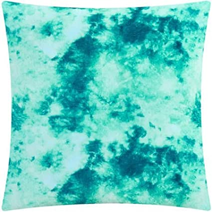 Amazon Acid Wash Decorative Pillow Set Of 40 Teal Home Kitchen New How To Wash Decorative Pillows