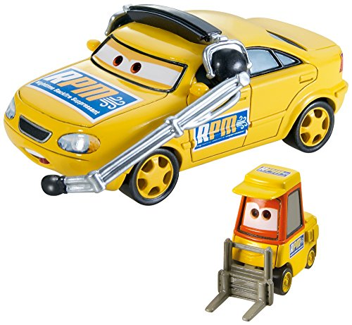 Disney/Pixar Cars Collector Die-Cast Vehicle (2-Pack), Chief RPM and Petrol Pulaski