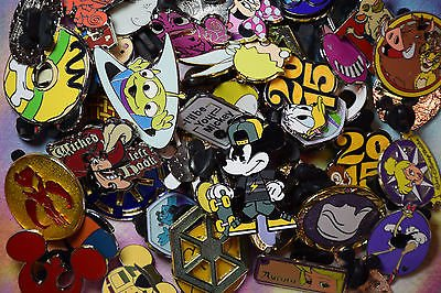 New.GOODS WHICH NEEDS.. Disneyland World trading pin lot 50 booster Hidden Mickey princess Donald more