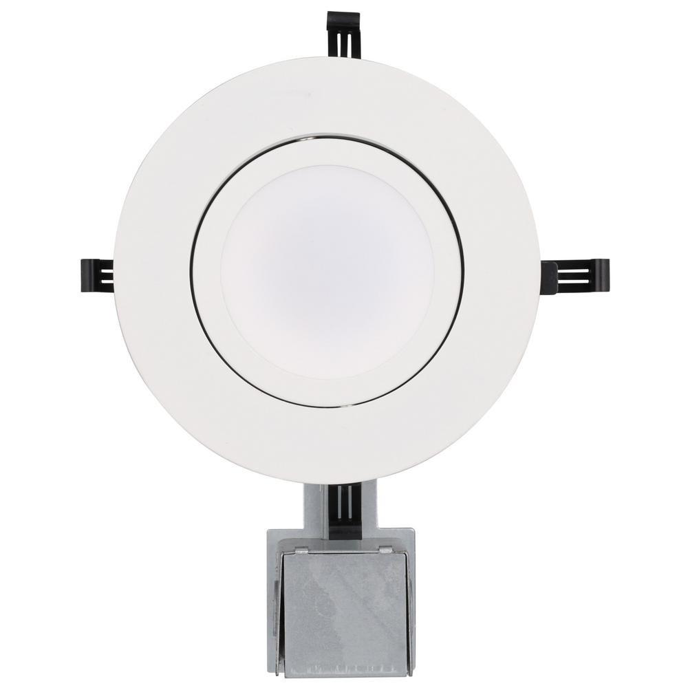 Lithonia Lighting LK5GMW LED M4 Gimbal Kit with Integrated Led, White, 5 inch by Lithonia Lighting (Image #2)