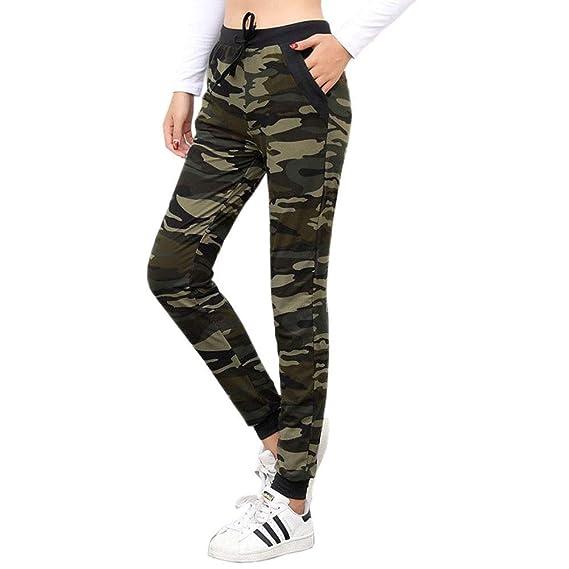 Wind Goal Pantalones de chándal para Mujer, diseño de Camuflaje ...