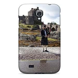 For Galaxy S4 Tpu Phone Case Cover(eilean Donan Castle)