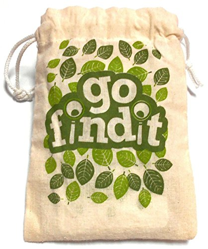 gofindit - Outdoor nature scavenger hunt card game for families (Inclusive Game)