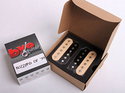 Blizzard of 59 - Vintage Humbucker Set - Zebra