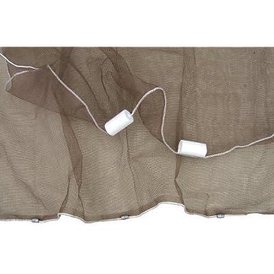 Ranger 1/4-Inch Mesh Minnow Seine Net (4-Feet x 20-Feet) by Ranger Nets