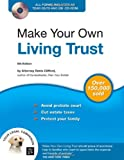 img - for Make Your Own Living Trust (Book & CD-ROM) book / textbook / text book