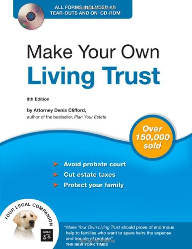Make Your Own Living Trust (Book & CD-ROM)