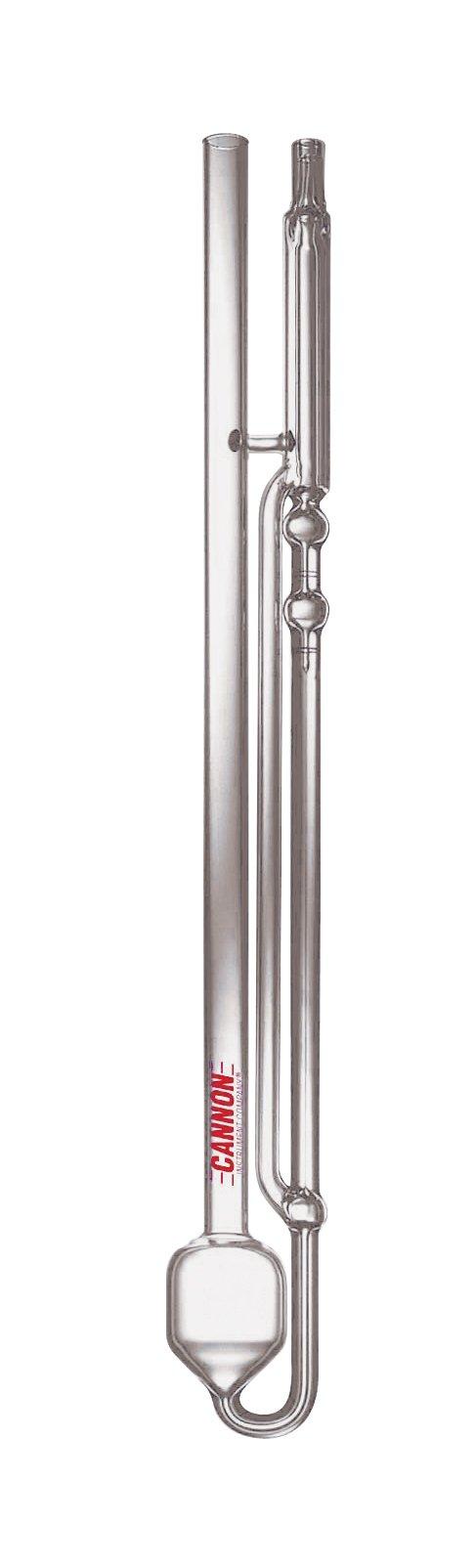 Cannon-Ubbelohde CUSMC-600 Calibrated Viscometer, 4,000 to 20,000 Centistokes Viscosity Range, Size 600
