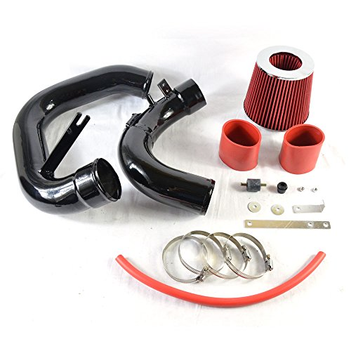 Intake Pipe Performance Cold Air Intake Induction Kit With Filter For Mazda 3 2004 2005 2006 2007 2008 2009 2.0L/2.3L(black&red)
