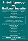img - for Intelligence and National Security - Volume 15 - Autumn 2000 - Number 3 book / textbook / text book