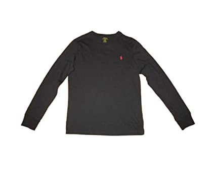 f9904298 Image Unavailable. Image not available for. Color: Polo Ralph Lauren Mens  Long Sleeve Crew Neck ...