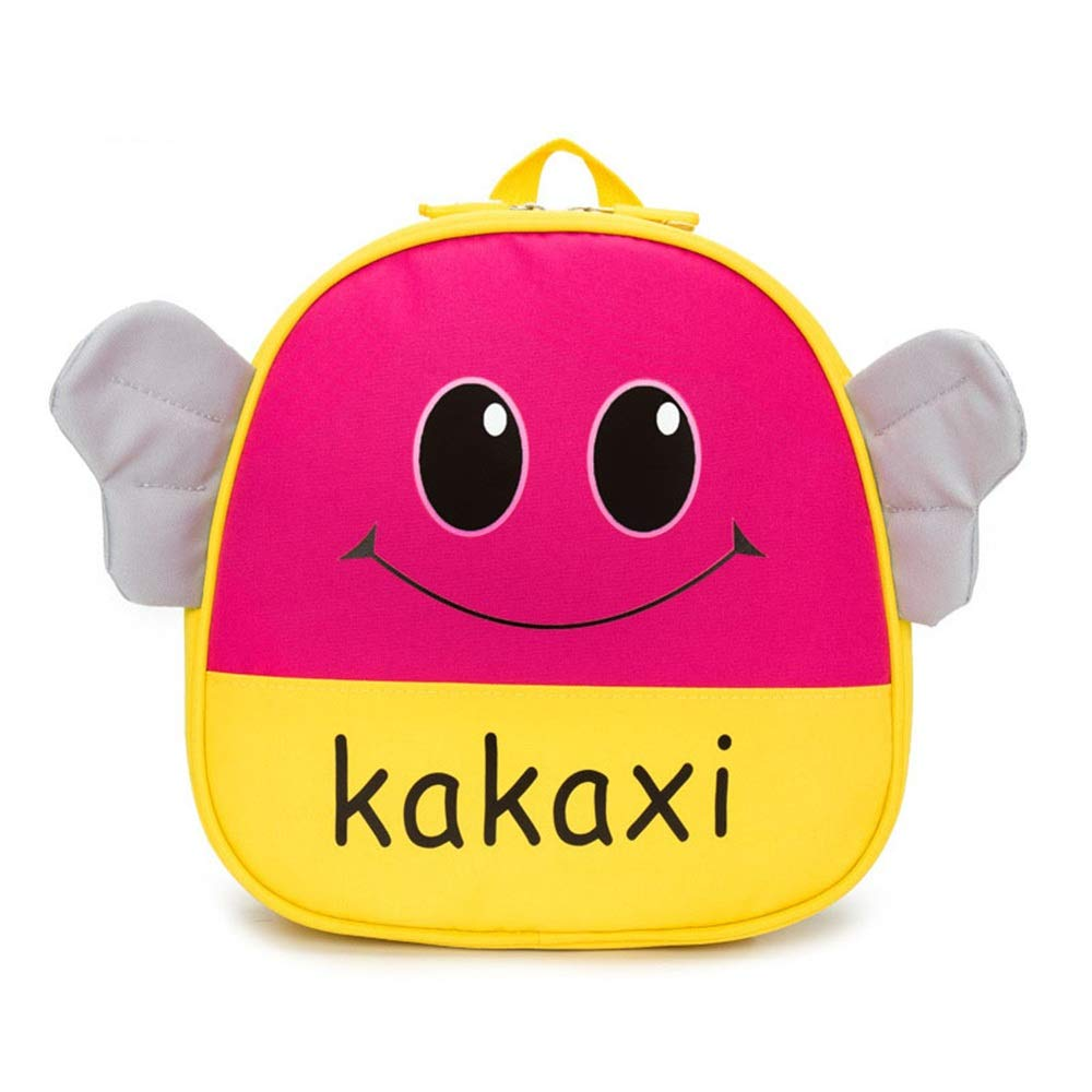 Kindlov-BG Walking Safety Baby Walking Safety Harness Backpack Kids Anti Lost Smiling Bee Backpacks with Safety Leash for Children 1-4 Years Old Toddler Child Kid Strap Backpack Bag