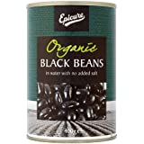 Epicure Black Beans in Water, 400g