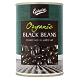 Epicure 1 Black Beans In Water, 400G