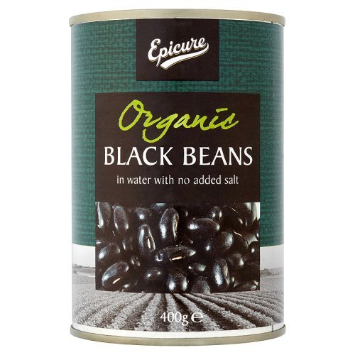 Epicure 1 Black Beans In Water, 400G by Epicure