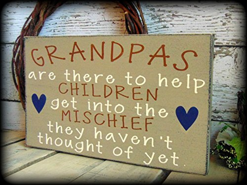 Funny Gift For Grandpa Rustic Sign