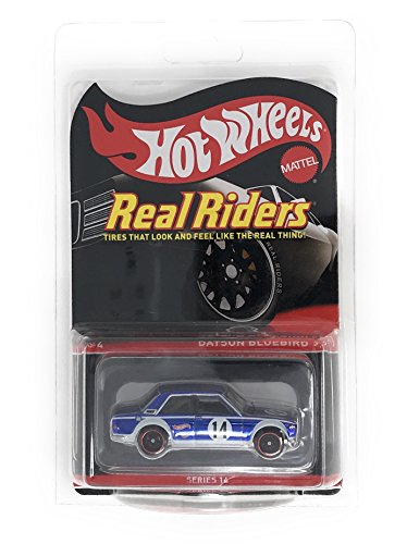 Hot Wheels Red Line Club RLC Real Riders Exclusive - Datsun Bluebird 510 (Only 7,000 Made)