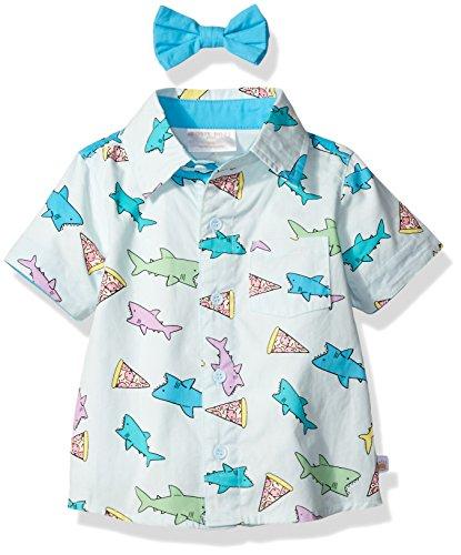 Rosie Pope Baby Boys' Dress Shirt, Light Blue, 18M by Rosie Pope (Image #2)