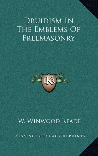 Druidism in the Emblems of Freemasonry pdf epub