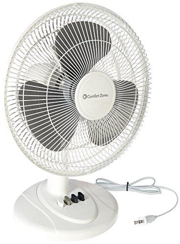 cz121 oscillating table fan