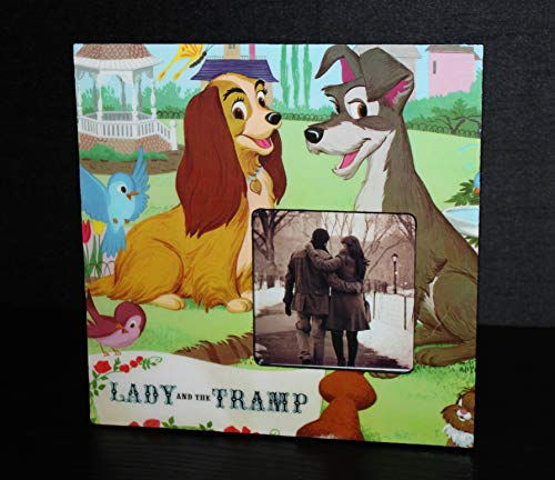Lady and the Tramp Vintage 1968 Record Picture Frame