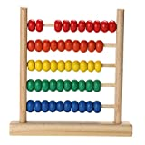 Math Manipulatives - Baby Wooden Toy Small Abacus Handcrafted Educational Toy Children's Wooden Early Learning Kids Math Toy - Abacus For Kids