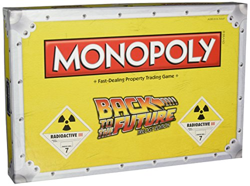 Back to The Future Monopoly Board Game (Back To The Future Board Game)
