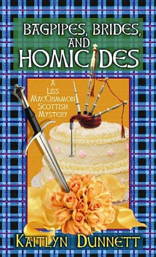 book cover of Bagpipes, Brides and Homicides