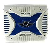 4 channel amp 1000 watt - Pyle PLMRA430BT Elite Series Waterproof Bluetooth Amplifier (1000 Watt 4-Channel Bridge Ability Marine Amp)
