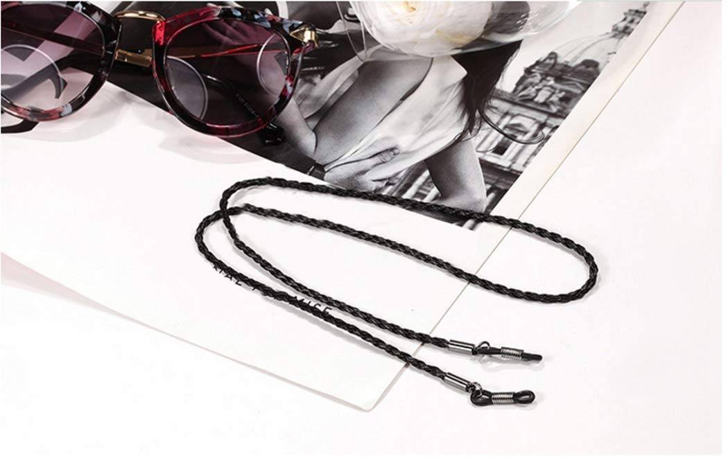 Fansport 3PCS Eyeglasses Holder Strap Anti Slip Stylish Eyewear Retainer Glasses Chain