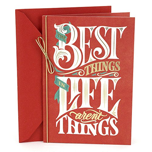 Card Friends Christmas - Hallmark Christmas Card (The Best Things In Life)