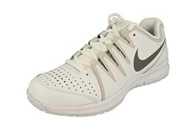 b9058a0f6a9bb Amazon.com | Nike Vapor Court Mens Tennis Trainers 631703 Sneakers Shoes  (UK 6 US 7 EU 40, White Tumbled Grey 107) | Tennis & Racquet Sports