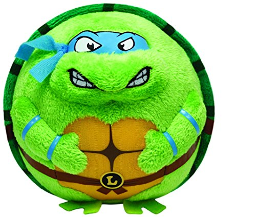 Ty Beanie Ballz Leonardo Mask, Medium/Blue