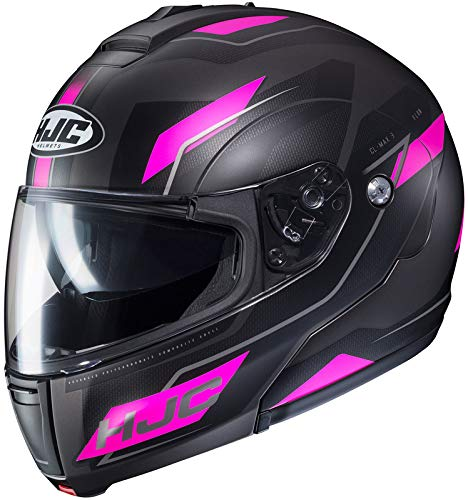 HJC Helmets Flow Women's CL-MAX 3 Modular Street Motorcycle Helmet - MC-8SF / X-Large