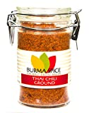 Ground Thai chili l Kosher dried crushed spice l 1.5 Ounces l ideal for Gochujang and South Asian recipes