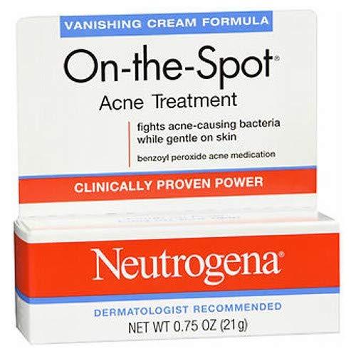 Formula Vanishing (Neutrogena On-The-Spot Acne Treatment Vanishing Cream Formula 0.75 oz (Pack of 9))