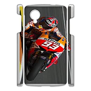 Google Nexus 5 Custom Cell PhoneCase Marc Marquez Case Cover NWFF36387