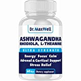 Best Cortisol Blockers - Dr.Maxwell Cortisol Manager, Adrenal, Thyroid Support. Clinically Proven Review