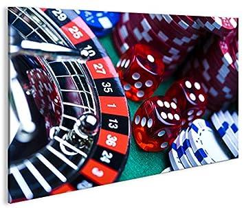 Quadro moderno ruleta Impresión sobre lienzo - Quadro X ...