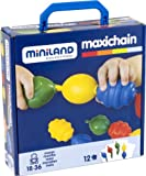 Miniland Interlocking Pieces - 16 Pieces